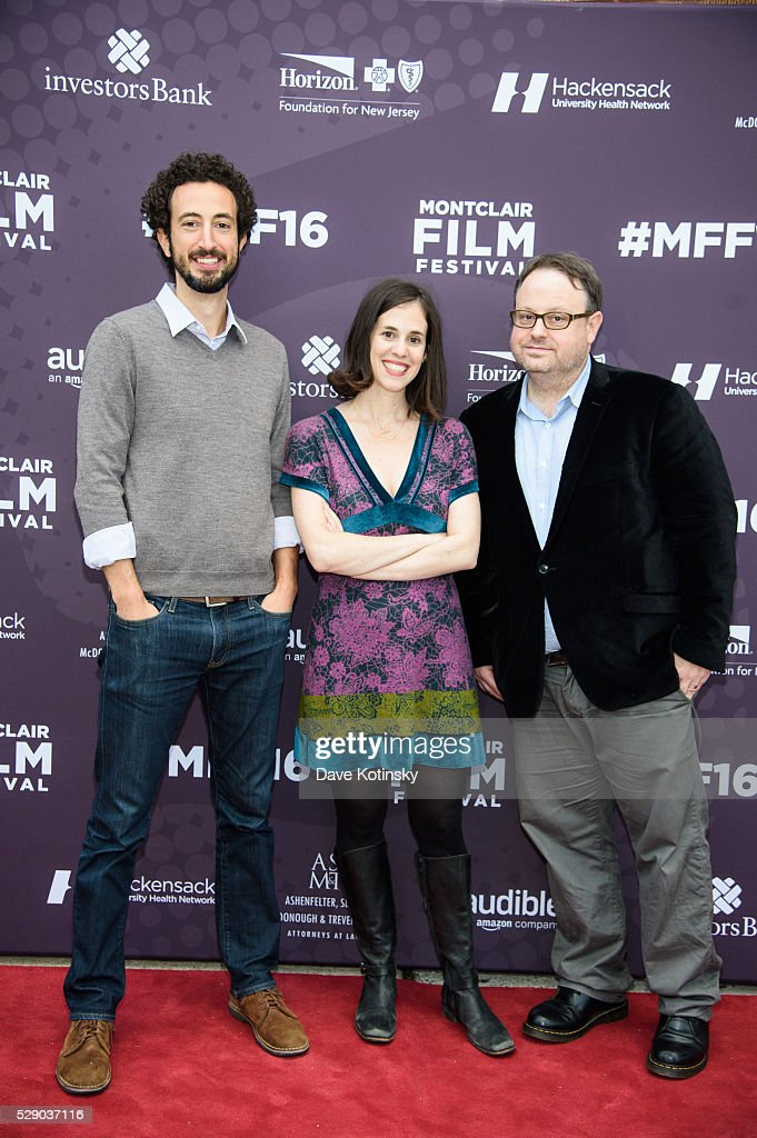 Josh Kriegman, Elyse Steinberg and Executive Director, MFF Tom Hall attends the Montclair Film Festival 2016 on May 7, 2016 in Montclair City.