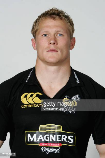Josh Lewsey MBE of London Wasps poses for a portrait during the London Wasps pre season photo call for he 20067 Guinness Premiership season at the...