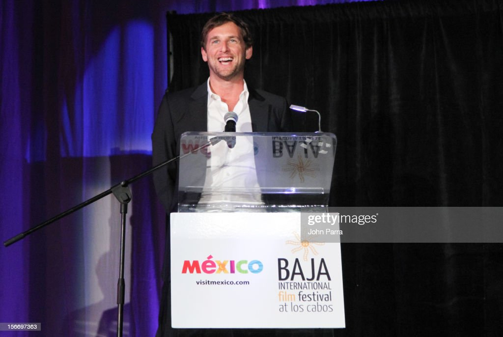 Josh Lucas attends the Closing Night Gala during the Baja International Film Festival at Los Cabos Convention Center on November 17, 2012 in Cabo San Lucas, Mexico.