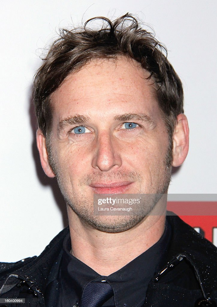 Josh Lucas attends the 'House Of Cards' premiere at Alice Tully Hall on January 30, 2013 in New York City.