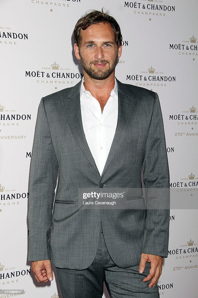 <a gi-track='captionPersonalityLinkClicked' href=/galleries/search?phrase=Josh+Lucas&family=editorial&specificpeople=216514 ng-click='$event.stopPropagation()'>Josh Lucas</a> attends the Moet & Chandon 270th Anniversary at Pier 59 Studios on August 20, 2013 in New York City.