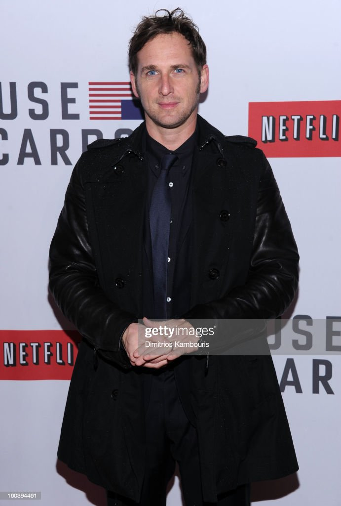 Josh Lucas attends the Netflix's 'House Of Cards' New York Premiere at Alice Tully Hall on January 30, 2013 in New York City.