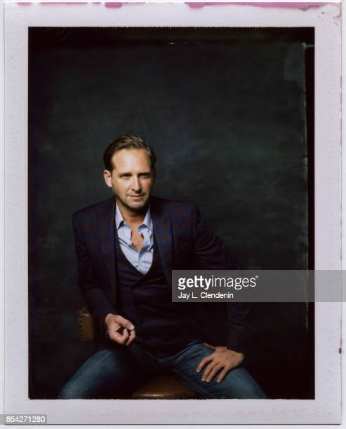 Josh Lucas from the film 'Mark Felt The Man Who Brought Down the White House' is photographed on polaroid film at the LA Times HQ at the 42nd Toronto...