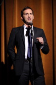 Josh Lucas speaks onstage at GQ's Gentlemen's Ball Presented By Gentleman Jack Land Rover Movado and Nautica at The Edison Ballroom on October 26...