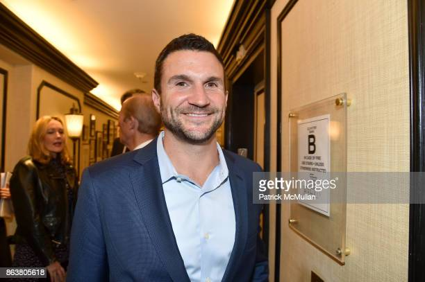 Josh Malkin attend the launch of Second Bloom Cathy Graham's Art of the Table hosted by Joanna Coles and Clinton Smith at Bergdorf Goodman on October...