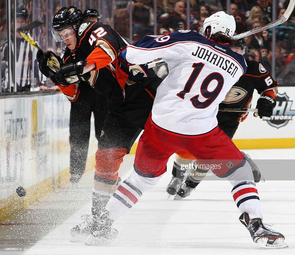 Columbus Blue Jackets v Anaheim Ducks Photos and Images | Getty Images