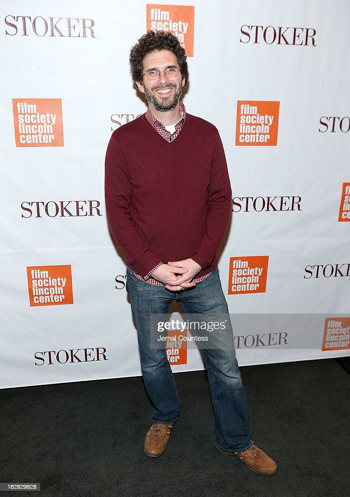 Josh Marston attends the 'Stoker' New York Screening at The Film Society of Lincoln Center, Walter Reade Theatre on February 27, 2013 in New York City.