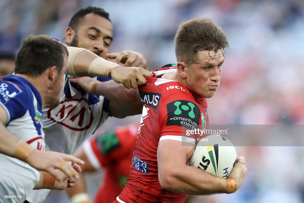 NRL Rd 14 - Bulldogs v Dragons