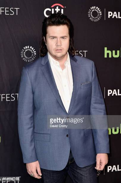 Josh McDermitt attends PaleyFest Los Angeles 2017 'The Walking Dead' at Dolby Theatre on March 17 2017 in Hollywood California