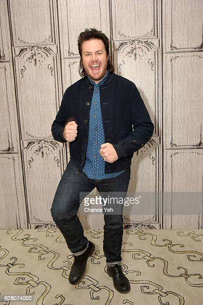 Josh McDermitt attends The Build Series to discuss 'The Walking Dead' at AOL HQ on December 6 2016 in New York City