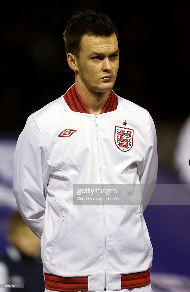 Josh McEachran of England during the International Match between England Under 21's and Sweden Under 21's at Banks' Stadium on February 5, 2013 in Walsall, England.