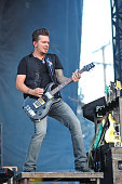 Josh McSwain of Parmalee performs perform on Day 2 of Country Thunder Wisconsin on July 22 2016 in Twin Lakes Wisconsin
