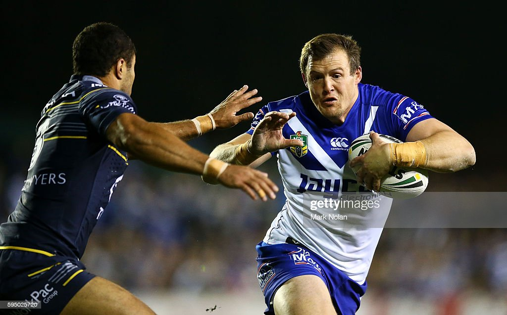 NRL Rd 25 - Bulldogs v Cowboys