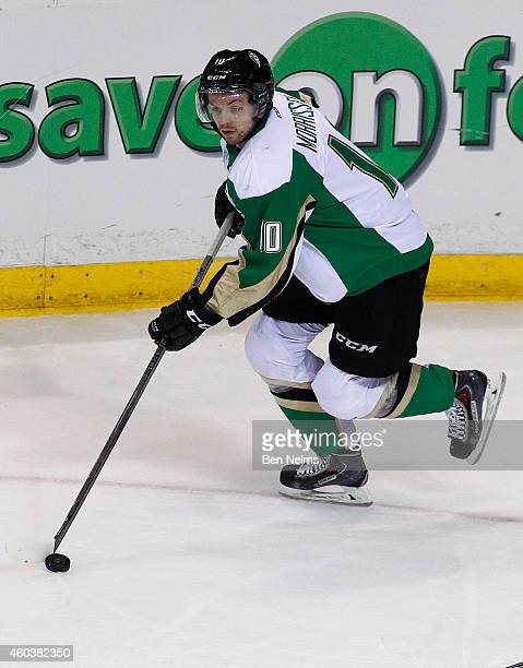 Josh Morrissey of the Prince Rupert Raiders skates against the Vancouver Giants during their WHL game at the Pacific Coliseum on December 10 2014 in...