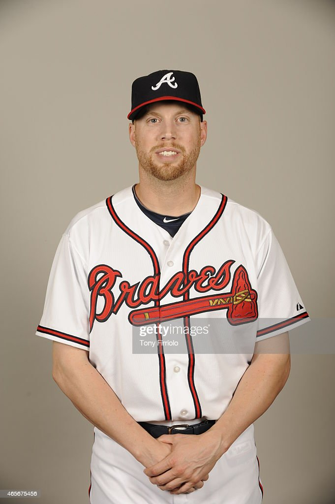 <a gi-track='captionPersonalityLinkClicked' href=/galleries/search?phrase=Josh+Outman&family=editorial&specificpeople=4900182 ng-click='$event.stopPropagation()'>Josh Outman</a> #55 of the Atlanta Braves poses during Photo Day on Monday, March 2, 2015 at Champion Stadium in Lake Buena Vista, Florida.