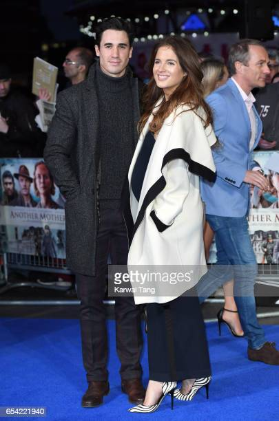 Josh Patterson and Binky Felstead attend the World Premiere of 'Another Mother's Son' at the Odeon Leicester Square on March 16 2017 in London England
