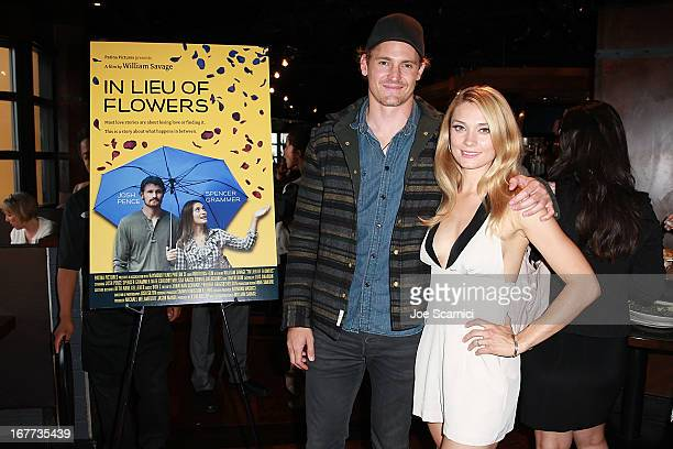 Josh Pence and Spencer Grammer attend the 2013 Newport Beach Film Festival 'In Lieu Of Flowers' World Premiere at Triangle Square Theater on April 28...
