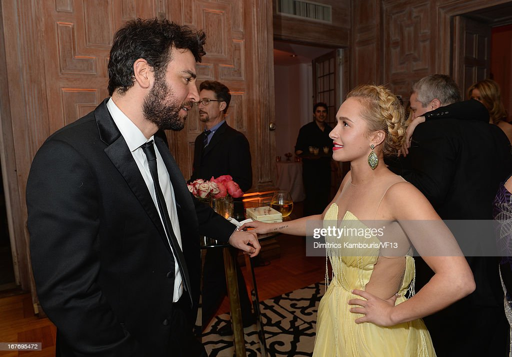 Josh Radner and Hayden Panettiere attend the Bloomberg & Vanity Fair cocktail reception following the 2013 WHCA Dinner at the residence of the French Ambassador on April 27, 2013 in Washington, DC.