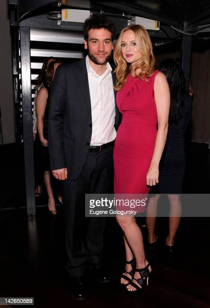 Josh Radnor and Heather Graham attend An Evening With Heather Graham To Raise Awareness And Celebrate Cambodian Children's Fund at Tribeca Rooftop on...