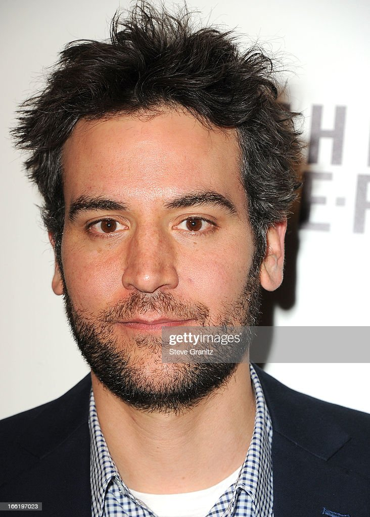 <a gi-track='captionPersonalityLinkClicked' href=/galleries/search?phrase=Josh+Radnor&family=editorial&specificpeople=599413 ng-click='$event.stopPropagation()'>Josh Radnor</a> arrives at the 'To The Wonder' Los Angeles premiere at Pacific Design Center on April 9, 2013 in West Hollywood, California.