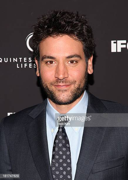 Josh Radnor attends the 'Liberal Arts' New York Screening at Sunshine Landmark on September 10 2012 in New York City