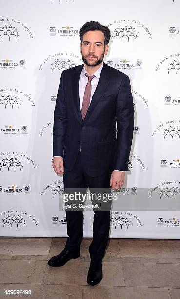 Josh Radnor attends the New York Stage and Film 2014 Winter Gala at The Plaza Hotel on November 16 2014 in New York City
