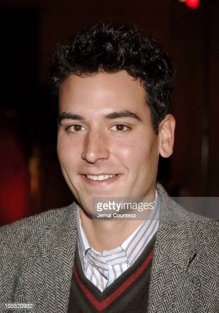 Josh Radnor during The Cast of 'How I Met Your Mother' Host 'Speed Dating at Grand Central' at Vanderbilt Hall Grand Central Station in New York City...