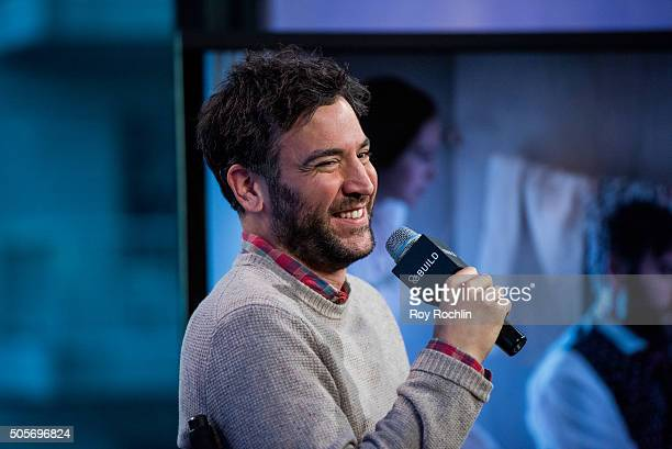 Josh Radnor talks to AOL Build about 'Mercy Street' at AOL Studios In New York on January 19 2016 in New York City