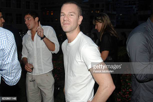 Josh Reed attends PIAGET Exclusive US Preview of the LIMELIGHT PARISNEW YORK Collection at The Loft and Garden at Rockefeller Center on August 7 2008...
