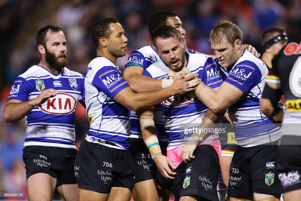 NRL Rd 21 - Panthers v Bulldogs