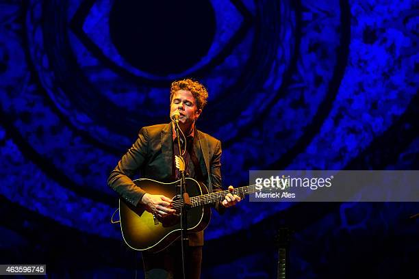 Josh Ritter performs in concert at ACL Live on January 18 2014 in Austin Texas