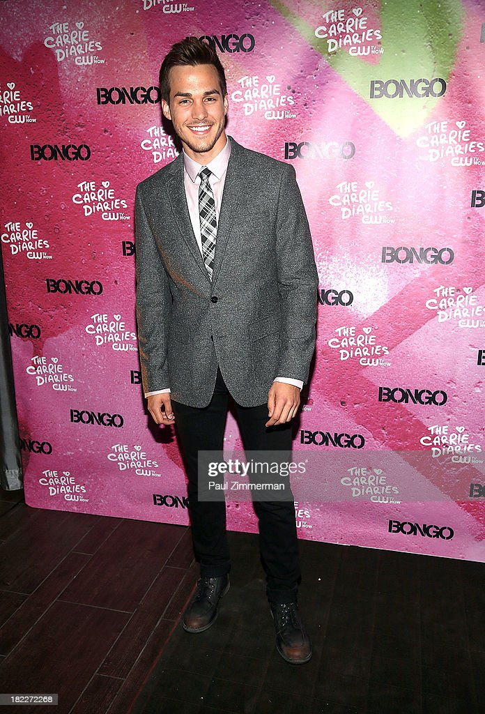 Josh Salatin attends 'The Carrie Diaries' Season Two Premiere Party at Gansevoort Park Avenue on September 28, 2013 in New York City.