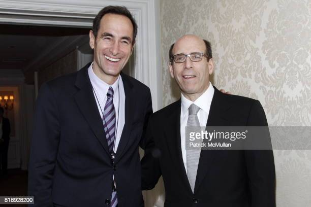 Josh Sapan and Matt Blank attend MUSEUM Of The MOVING IMAGE Dinner In Honor Of KATIE COURIC And PHIL KENT at St Regis Hotel on May 5 2010 in New York...