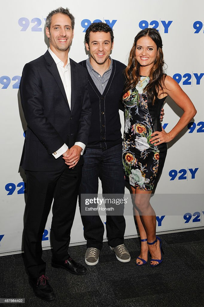 Josh Saviano Fred Savage and Danica McKellar at 92nd Street Y on October 20 2014 in New York City