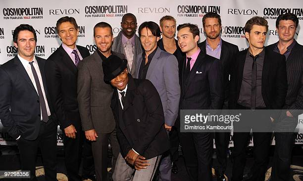 Josh Schwartz Mehmet Oz Chris O'Donnell NeYo Terrell Owens Stephen Moyer Kellan Lutz Ed Westwick Gerard Butler Paul Wesley and Nathan Fillion attend...
