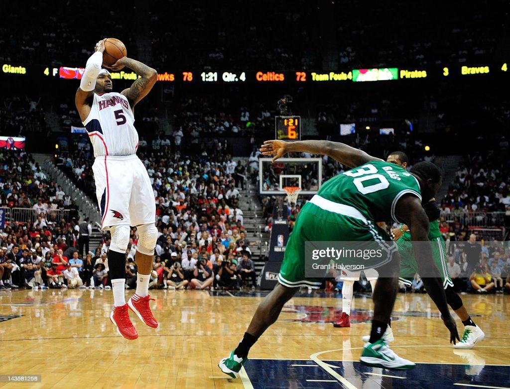 Boston Celtics v Atlanta Hawks - Game One