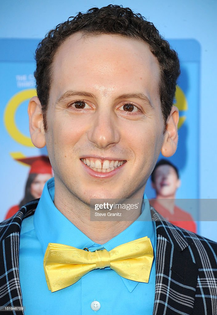 Josh Sussman arrives at the 'GLEE' Premiere Screening And Reception at Paramount Studios on September 12 2012 in Hollywood California