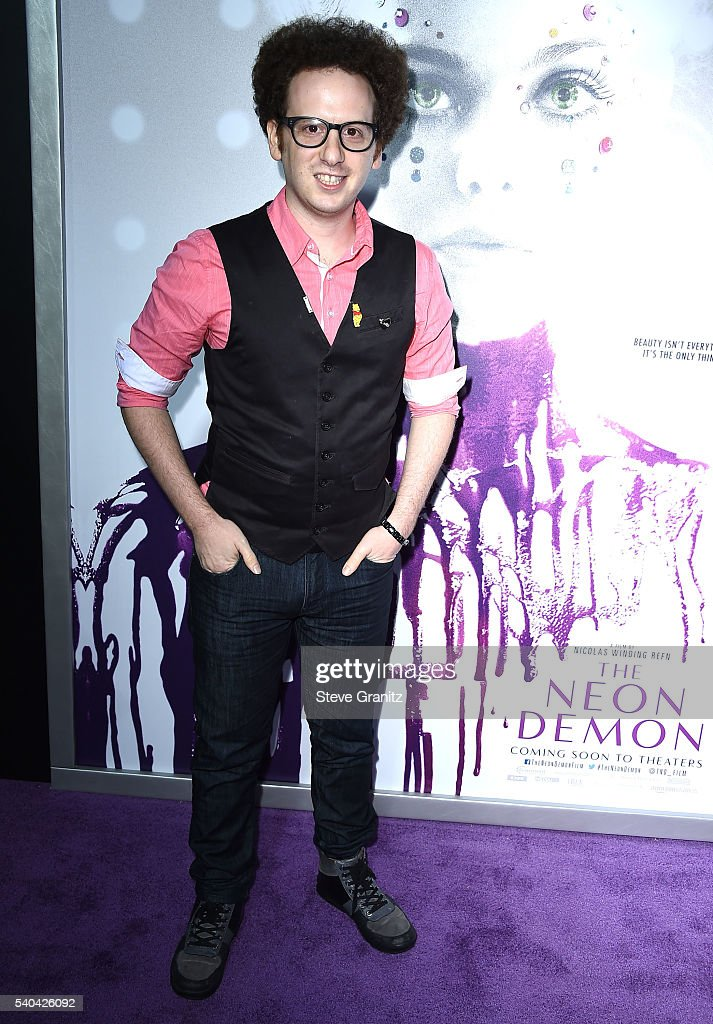 Josh Sussman arrives at the Premiere Of Amazon's 'The Neon Demon' at ArcLight Cinemas Cinerama Dome on June 14 2016 in Hollywood California