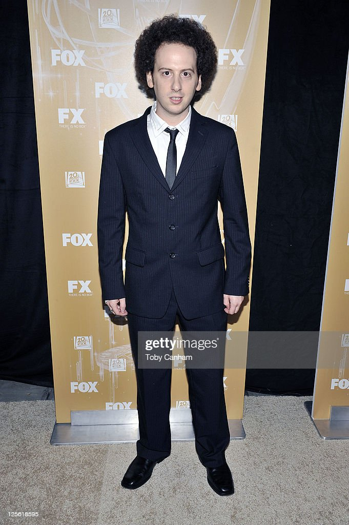 <a gi-track='captionPersonalityLinkClicked' href=/galleries/search?phrase=Josh+Sussman&family=editorial&specificpeople=5756661 ng-click='$event.stopPropagation()'>Josh Sussman</a> arrives for the Fox Broadcasting Company, Twentieth Century Fox Television And FX 2011 Emmy after party on September 18, 2011 in West Hollywood, California.