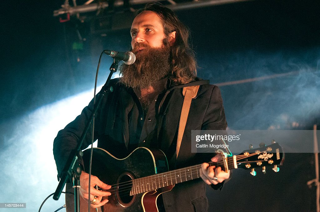 Josh T Pearson performs on stage during Apple Cart Festival at Victoria Park on June 3, 2012 in London, United Kingdom.