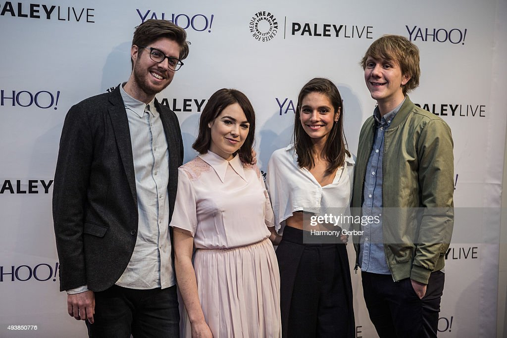 Josh Thomas, Thomas Ward, Caitlin Stasey and Emily Barclay attend the Paley Center for Media on October 22, 2015 in Beverly Hills, California.