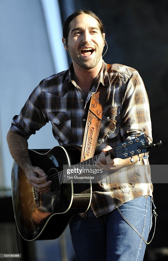Josh Thompson performs in support of his Way Out Here release at Shoreline Amphitheatre on September 15, 2010 in Mountain View, California.