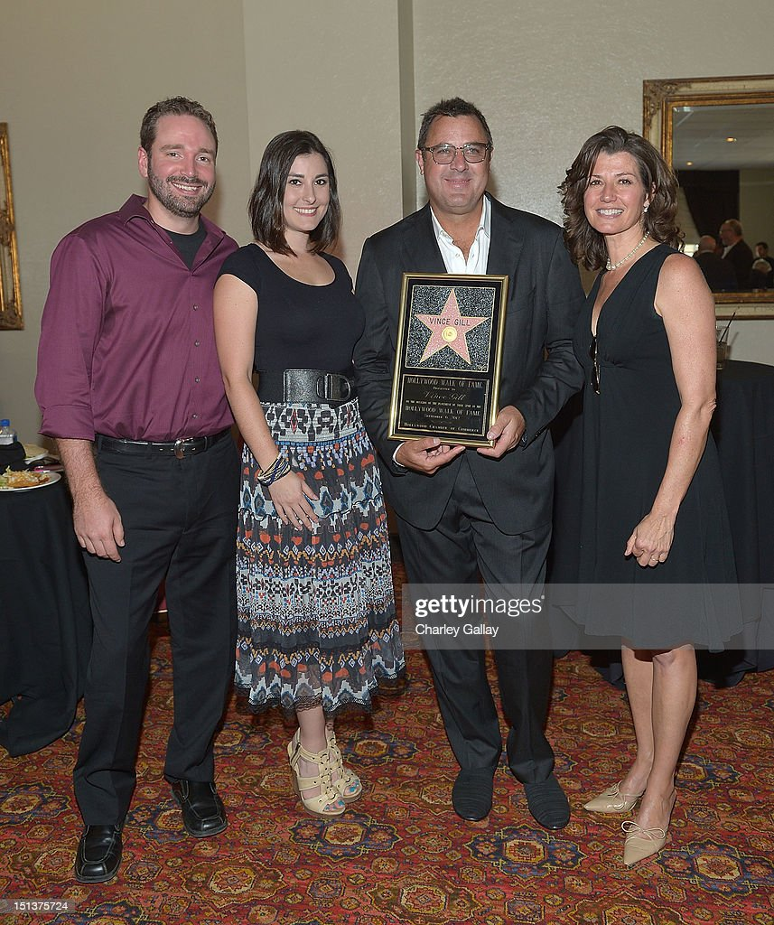Vince Gill Receives A Star On The Hollywood Walk Of Fame