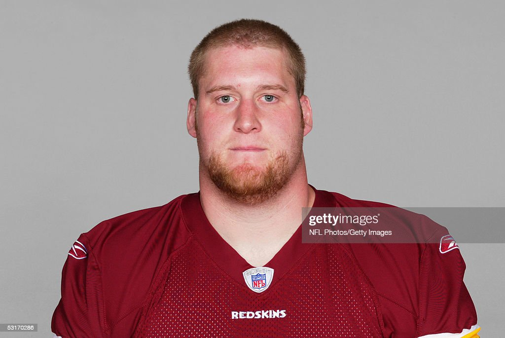Josh Warner of the Washington Redskins poses for his 2005 NFL headshot at photo day in Landover, Maryland.