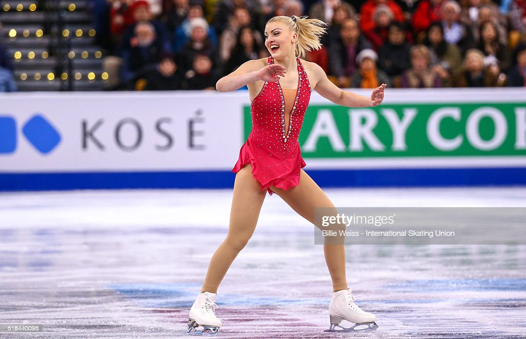 <a gi-track='captionPersonalityLinkClicked' href=/galleries/search?phrase=Joshi+Helgesson&family=editorial&specificpeople=6523214 ng-click='$event.stopPropagation()'>Joshi Helgesson</a> of Sweden competes during Day 4 of the ISU World Figure Skating Championships 2016 at TD Garden on March 31, 2016 in Boston, Massachusetts.