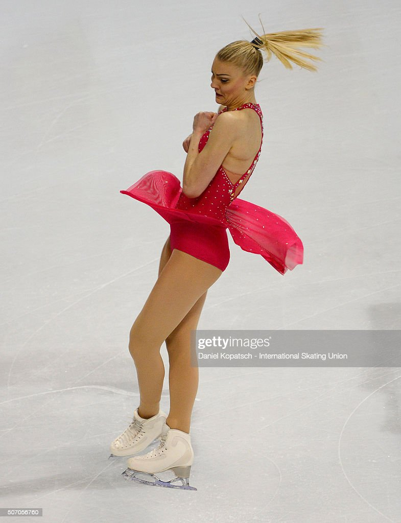 <a gi-track='captionPersonalityLinkClicked' href=/galleries/search?phrase=Joshi+Helgesson&family=editorial&specificpeople=6523214 ng-click='$event.stopPropagation()'>Joshi Helgesson</a> of Sweden performs during the Ladies Short Program during day one of the ISU European Figure Skating Championships 2016 on January 27, 2016 in Bratislava, Slovakia.