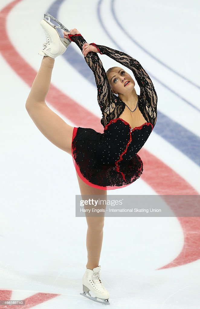 <a gi-track='captionPersonalityLinkClicked' href=/galleries/search?phrase=Joshi+Helgesson&family=editorial&specificpeople=6523214 ng-click='$event.stopPropagation()'>Joshi Helgesson</a> of Sweden skates during the Ladies Free Skating on day two of the Rostelecom Cup ISU Grand Prix of Figure Skating 2015 at the Luzhniki Palace of Sports on November 21, 2015 in Moscow, Russia.