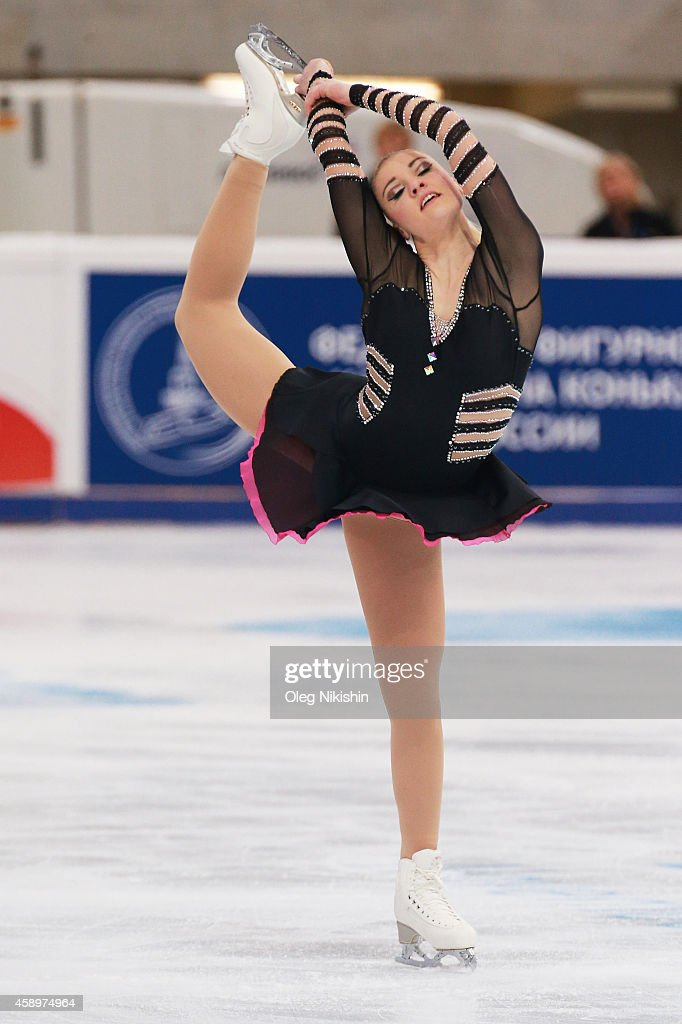 <a gi-track='captionPersonalityLinkClicked' href=/galleries/search?phrase=Joshi+Helgesson&family=editorial&specificpeople=6523214 ng-click='$event.stopPropagation()'>Joshi Helgesson</a> of Sweden skates in the Ladies Short Programm Program during ISU Rostelecom Cup of Figure Skating 2014 on November 14, 2014 in Moscow, Russia.