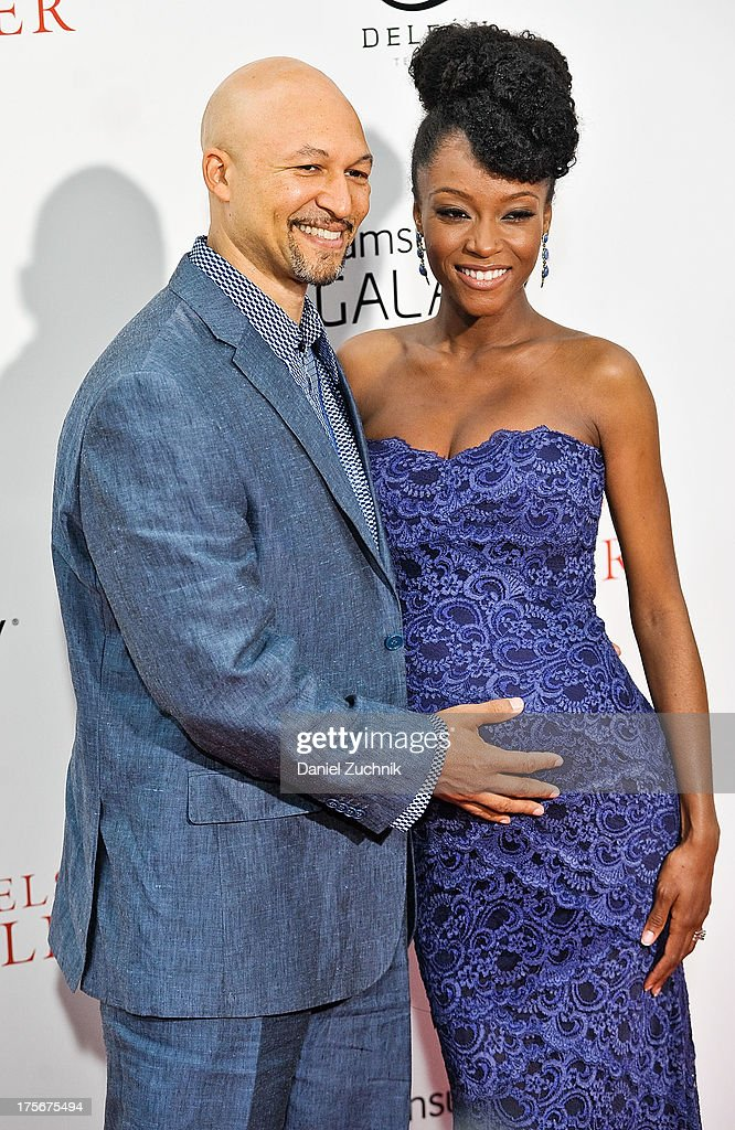 Joshua Bee Alafia and Yaya Alafia attend 'The Butler' New York Premiere at Ziegfeld Theater on August 5, 2013 in New York City.