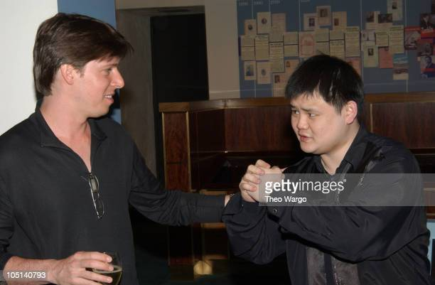 Joshua Bell and Chuanyun Li during United Artists Film 'Together' After Party at Carnegie Hall at Carnegie Hall in New York City New York United...